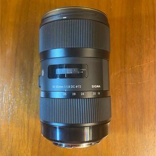 SIGMA - Sigma 18-35mm f1.8 DC HSM Canonマウント