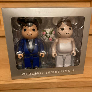 MEDICOM TOY - BE@RBRICK グリーティング結婚 4 PLUS 400%
