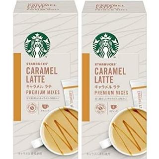Starbucks Coffee - スターバックス プレミアム ミックス キャラメルラテ 2箱8袋