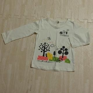ニシマツヤ(西松屋)の女の子 Tシャツ 長袖 春 秋 90 西松屋 保育園(Tシャツ/カットソー)