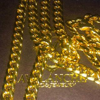 AVALANCHE - アヴァランチ AVALANCHE  10k イエローゴールド マイアミネックレス