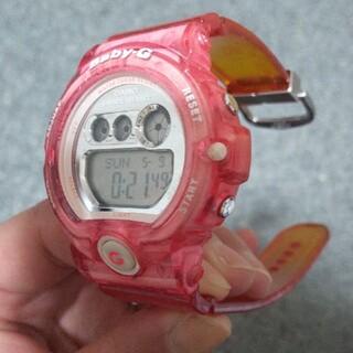 ジーショック(G-SHOCK)のベビーG G-SHOCK BG-6900 染色 ピンクXオレンジ(腕時計(デジタル))