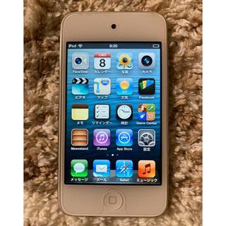 アイポッドタッチ(iPod touch)のiPod Touch 32GB 第4世代 A1367 ホワイト(ポータブルプレーヤー)