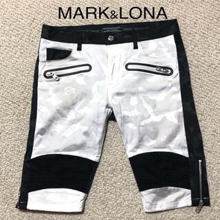 マークアンドロナ(MARK&LONA)のMARK&LONA バイカーショーツ/ショートパンツ M/マーク&ロナ(ショートパンツ)