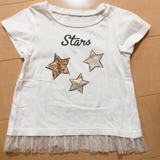Tシャツ ポイント 100 スター レース(Tシャツ/カットソー)