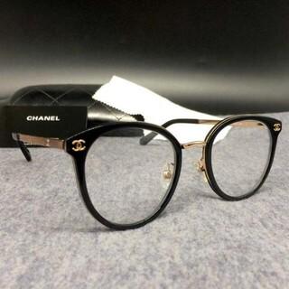 シャネル(CHANEL)のシャネル CHANEL 2132 メガネ フレーム サングラス ブラック(サングラス/メガネ)