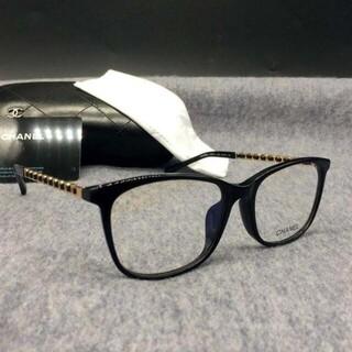 シャネル(CHANEL)のシャネル CHANEL 3409 メガネ フレーム サングラス ブラック(サングラス/メガネ)