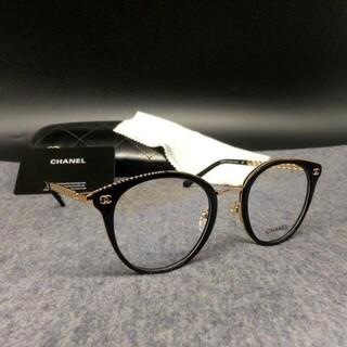 シャネル(CHANEL)のシャネル CHANEL 3364 メガネ フレーム サングラス ブラック(サングラス/メガネ)