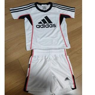 アディダス(adidas)のすいちゃん様専用 サッカー キッズ 子ども   半袖  上下セット アディダス(その他)