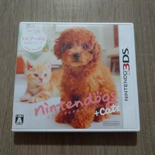 ニンテンドー3DS(ニンテンドー3DS)のnintendogs + cats トイ・プードル&Newフレンズ 3DS(携帯用ゲームソフト)