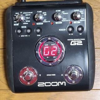 ズーム(Zoom)のZOOM マルチエフェクター G2 ギターエフェクトペダル 使用品(エフェクター)