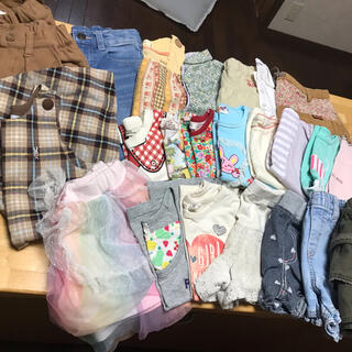 25枚まとめ売り 100センチ(Tシャツ/カットソー)