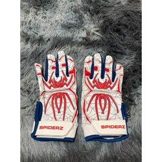 スパイダーズ バッティング手袋