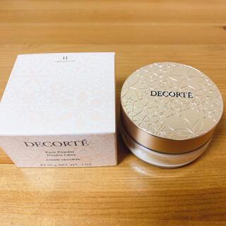 コスメデコルテ(COSME DECORTE)のコスメデコルテ フェイスパウダー 11 luminary ivory 20g(フェイスパウダー)