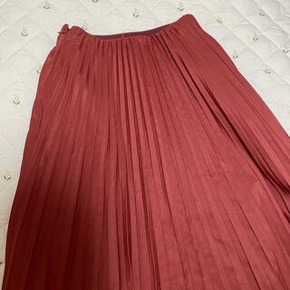リリーブラウン(Lily Brown)のLily Brown  リリーブラウン プリーツスカート ロング 赤 福袋(ロングスカート)