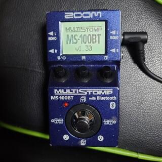 ズーム(Zoom)のZOOM マルチエフェクター MS-100BT Bluetooth機能付き(エフェクター)