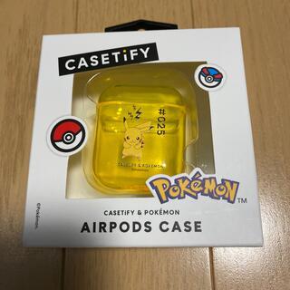ポケモン(ポケモン)のCASETIFY Pokémon AirPodsケース ピカチュウ(モバイルケース/カバー)