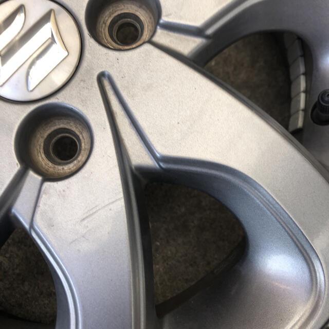 スズキ(スズキ)のスズキ パレットsw純正ホイール 自動車/バイクの自動車(ホイール)の商品写真