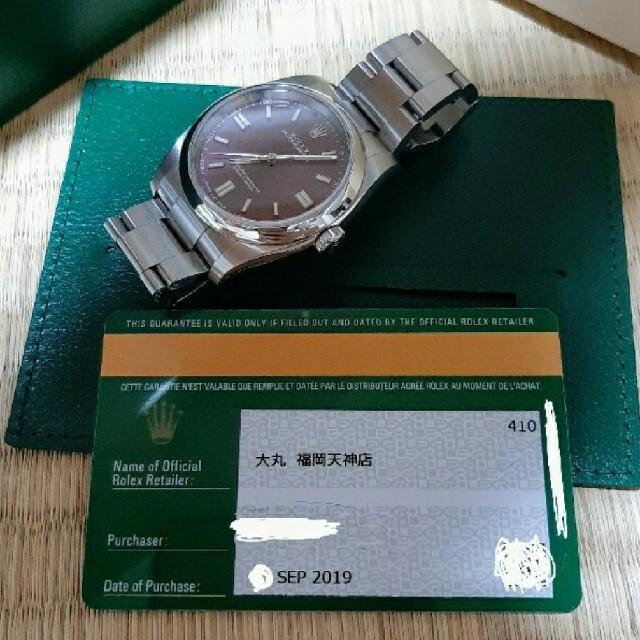 ROLEX(ロレックス)の美品!高騰中!廃盤 ロレックス グレープ文字盤 116000 付属品完備! メンズの時計(腕時計(アナログ))の商品写真
