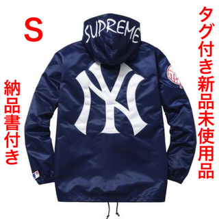Supreme - SupremeYankees SatinHooded CoachesJacket