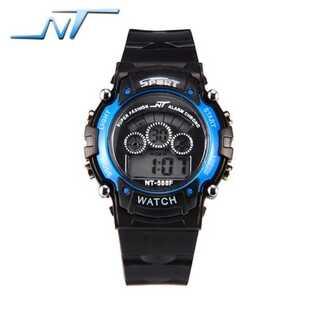 ☆新品送料込みNT 多機能 7色点灯 キッズ子供用アウトドア腕時計(腕時計(デジタル))