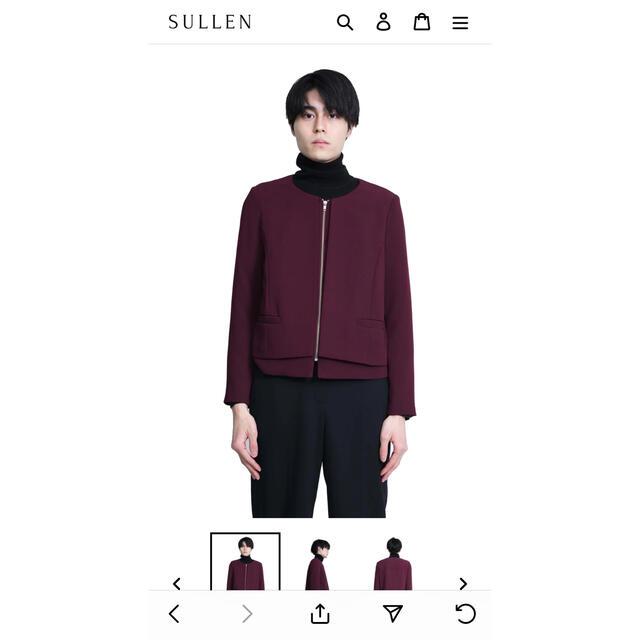 JOHN LAWRENCE SULLIVAN(ジョンローレンスサリバン)のsullen 購入 ブルゾン メンズのジャケット/アウター(ブルゾン)の商品写真
