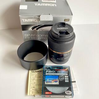 TAMRON - タムロン単焦点マクロレンズSPAF60mmF2DiIIM G005E キヤノン用