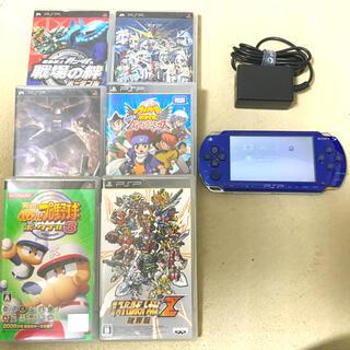 プレイステーションポータブル(PlayStation Portable)のプレイステーションポータブル本体とソフト(携帯用ゲーム機本体)