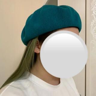 ★ベレー帽★春夏用★メッシュ★サファイヤカラー★(ハンチング/ベレー帽)