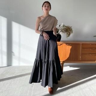 STUDIOUS - 新品タグ付き CLANE ボリュームテーラードマキシスカート
