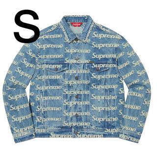 Supreme - S Supreme Frayed Logos Denim Jacket   新品