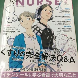 【美品】Expert Nurse (エキスパートナース) 2021年 02月号