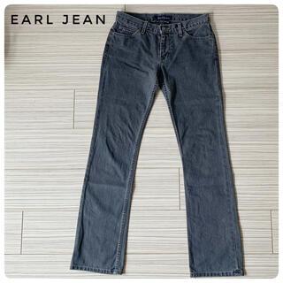 アールジーン(Earl Jean)の☆脚長効果あり・状態良し☆EARL JEAN ブラックジーンズ(デニム/ジーンズ)