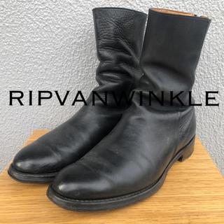 グイディ(GUIDI)のripvanwinkle  バックジップブーツ 42(ブーツ)