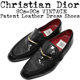 Christian Dior - ★Christian Dior★ディオール★80s★パテント ドレスシューズ★黒