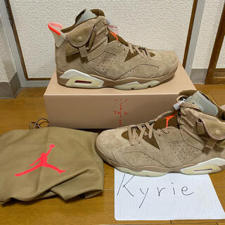NIKE - TRAVIS NIKE AIR JORDAN 6 BRITISH KHAKI