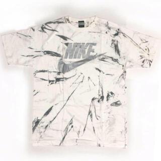 ナイキ(NIKE)のNIKE ナイキ タイダイ ホワイト シルバー Tシャツ(Tシャツ/カットソー(半袖/袖なし))