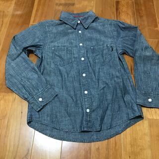 男児長袖シャツ 140サイズ (ブラウス)