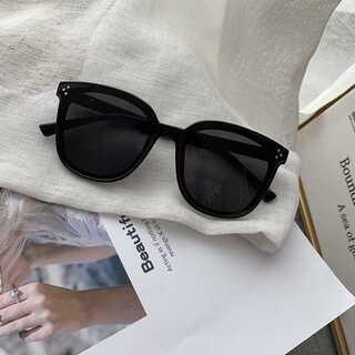 再入荷♥黒サングラス☆黒縁メガネ 眼鏡☆愛の不時着☆新品未使用(サングラス/メガネ)