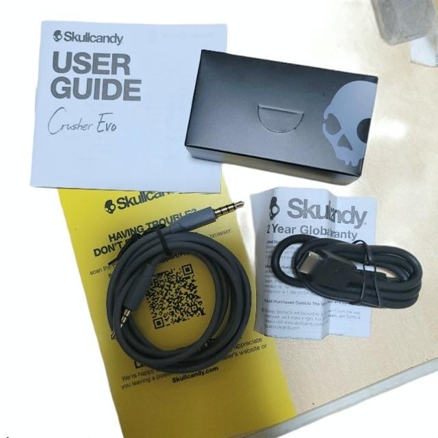 Skullcandy(スカルキャンディ)のスカルキャンディ クラッシャー SkullcandyCRUSHER EVO スマホ/家電/カメラのオーディオ機器(ヘッドフォン/イヤフォン)の商品写真