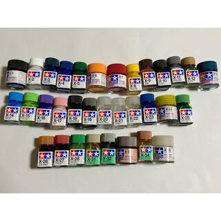 タミヤカラー エナメル塗料 アクリル塗料ミニ 顔料 33色 プラモデル