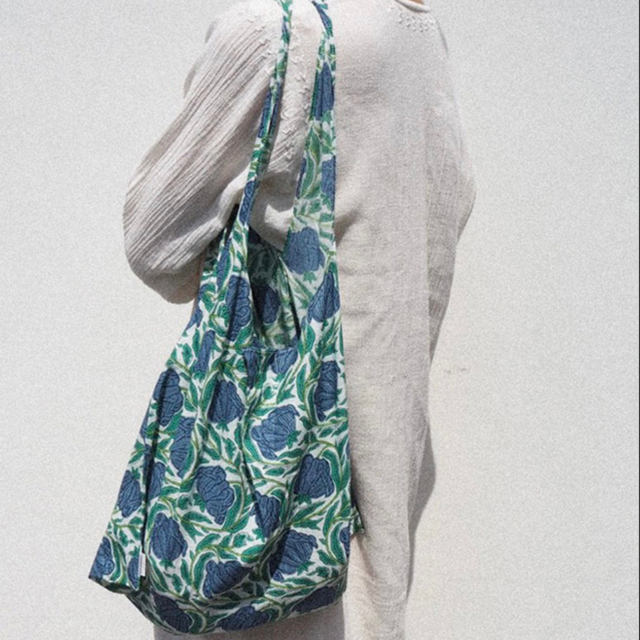 TODAYFUL(トゥデイフル)の【新品】TODAYFUL オリジナルエコバッグ ブルー レディースのバッグ(エコバッグ)の商品写真