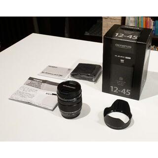 オリンパス(OLYMPUS)の【新品未使用・メーカー保証約1年付】オリンパス 12-45mm f4.0 pro(レンズ(ズーム))