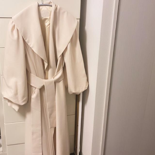 eimy istoire(エイミーイストワール)のeimy istoire ロングコート⭐️新品•未使用 レディースのジャケット/アウター(ロングコート)の商品写真