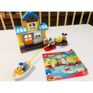 レゴ(Lego)のレゴ レゴデュプロ ミッキー&フレンズのビーチハウス(積み木/ブロック)