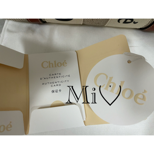 Chloe(クロエ)のクロエ スモールトートバッグ Chloe クロエ woody スモールトートバッ レディースのバッグ(トートバッグ)の商品写真