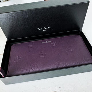 Paul Smith - ♦︎良品レア♦︎ 化粧箱付き! ポールスミス ラウンドファスナー 長財布