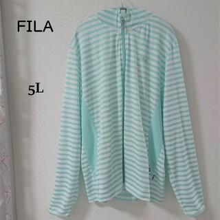 FILA - 【新品・未使用】FILA フィラ ラッシュガード レディース 大きいサイズ 5L