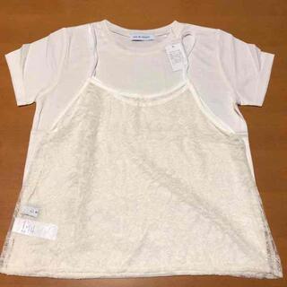 アズールバイマウジー(AZUL by moussy)の新品未使用 レディース 2点セット アズールバイマウジー(Tシャツ(半袖/袖なし))