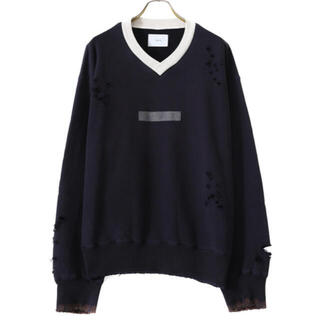 SUNSEA - 【破格につき早い者勝ち】stein archive V NECK SWEAT S